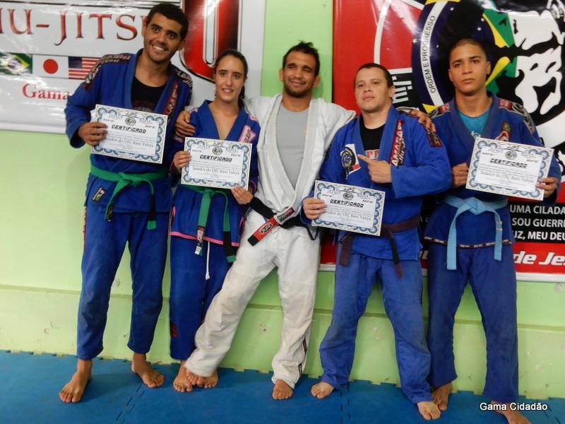 """Projeto Social """"Jiu-Jitsu/MMA para Cristo"""" comemora aniversário com presença ilustre do lutador do UFC, Rani Yahya"""