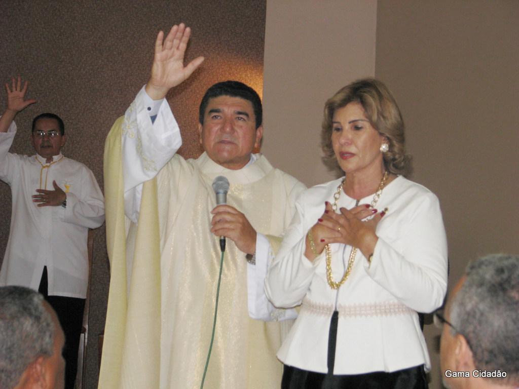 Cerimônia de posse da Profa. Maria Antônia acontece na Paróquia Nossa Senhora da Conceição Imaculada